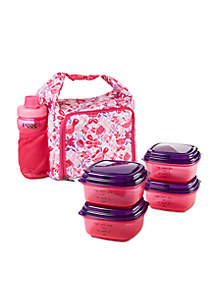 Willow Insulated Lunch Bag Kit with Container Set and Jaxx Shaker Bottle