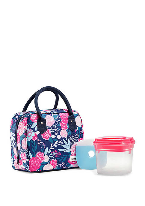 Fit & Fresh Bloomington Insulated Lunch Bag Set