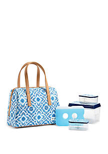 Fit & Fresh Bakersfield Insulated Lunch Bag Kit