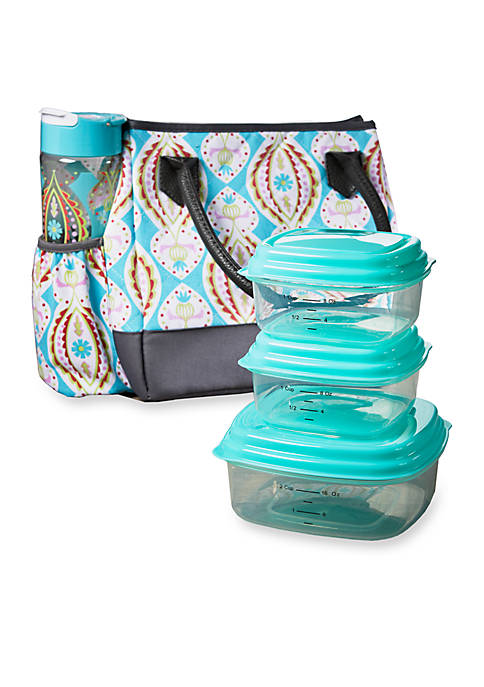Fit & Fresh McAllen Insulated Lunch Bag Kit