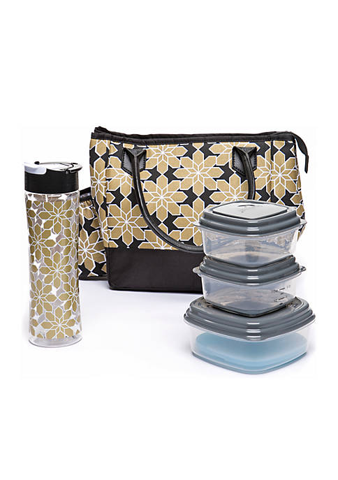 Fit & Fresh McAllen Insulated Lunch Bag Set
