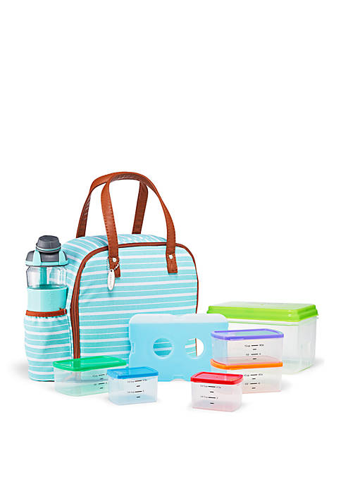 Fit & Fresh Wichita Insulated Lunch Bag Kit