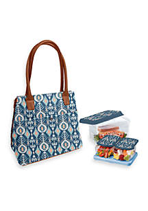 Lawrence Insulated Bag Kit with Lunch on the Go Container Set and Ice Pack