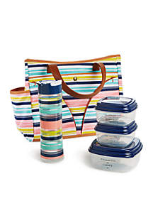 Norwich Lunch Bag Kit with Portion Control Container Set and Water Bottle