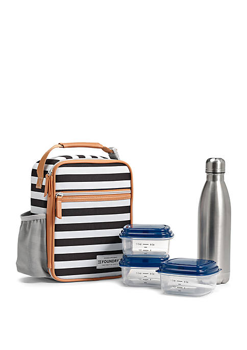 Fit & Fresh Thayer Insulated Lunch Bag Kit