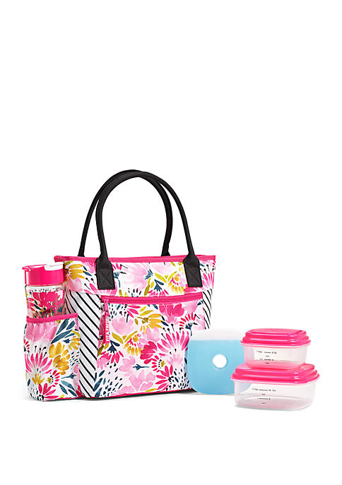 Fit & Fresh Atwater Insulated Lunch Bag Kit