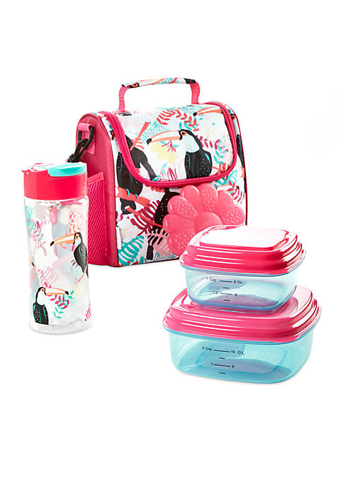 Fit & Fresh Melissa Insulated Lunch Bag Set