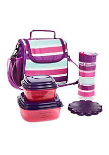 Melissa Beach Stripe Lunch Kit
