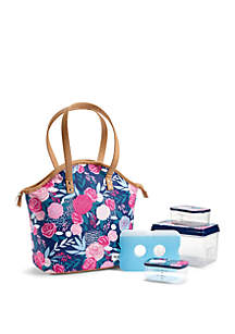 Fit & Fresh Davenport Insulated Lunch Bag Kit