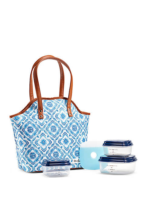 Fit & Fresh Davenport Insulated Lunch Bag with