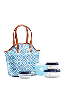 Fit & Fresh Davenport Insulated Lunch Bag with Container Set