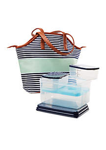 Davenport Insulated Bag Kit with Lunch on the Go Container Set