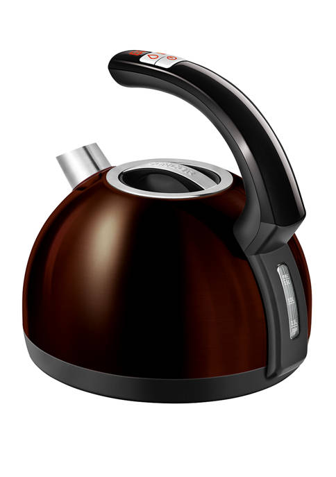 Cordless Electric Kettle with Display and Power Cord Base