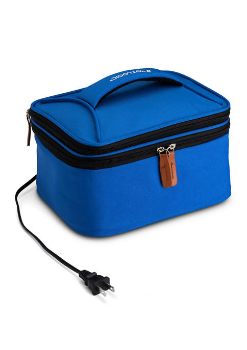 120 Volt Food Warming Tote Plus Lunch Bag