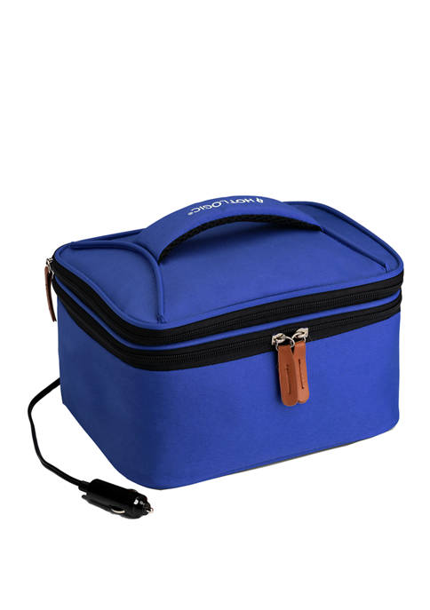 12 Volt Food Warming Tote Plus Lunch Bag