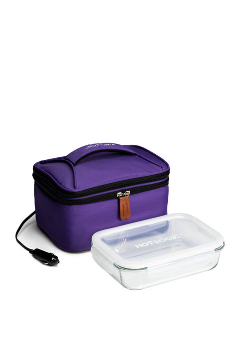 120 Volt Food Warming Tote, Lunch Bag Plus with Glass Dish