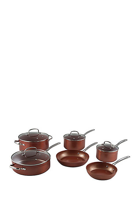 10-Piece Forged Aluminum Cook Set