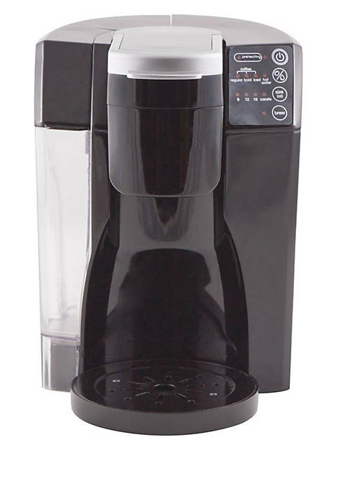 NuWave™ Bruhub Single Serve Coffee Maker with Stainless