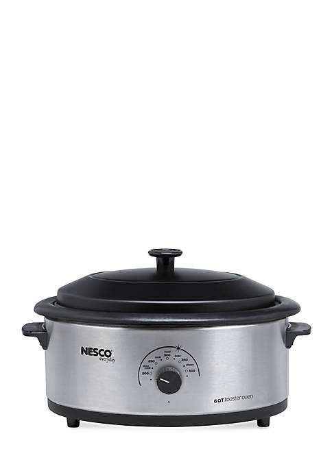 Nesco 6-qt. Stainless Steel Roaster 48162530