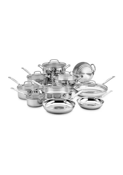 Cuisinart Chefs Classic Stainless Cookware 17 Piece Set