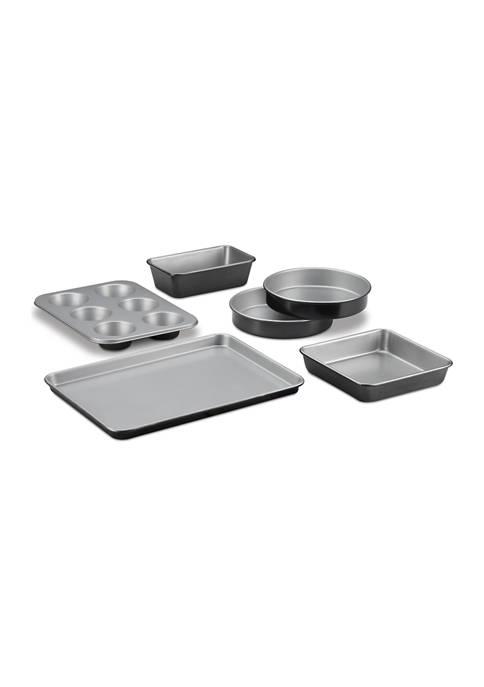 Cuisinart Chefs Classic 6-Piece Non-Stick Metal Bakeware Set