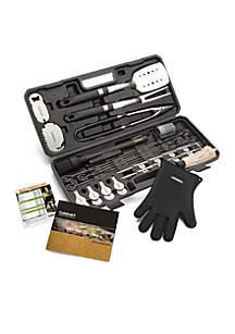 36-Piece Backyard BBQ Tool Set