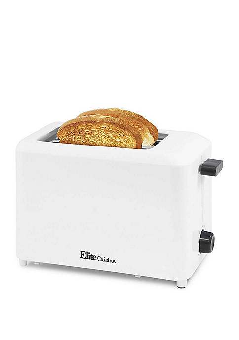 Elite Cuisine Cool Touch Toaster with Extra Wide