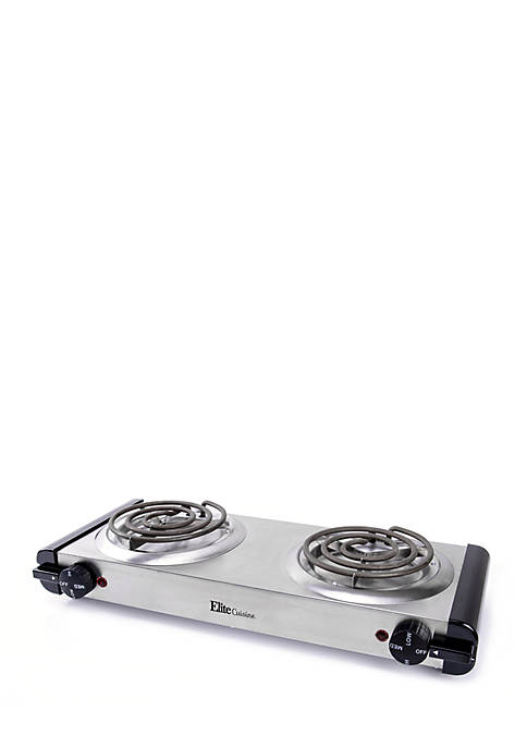 Cuis Electric SS Double Burner