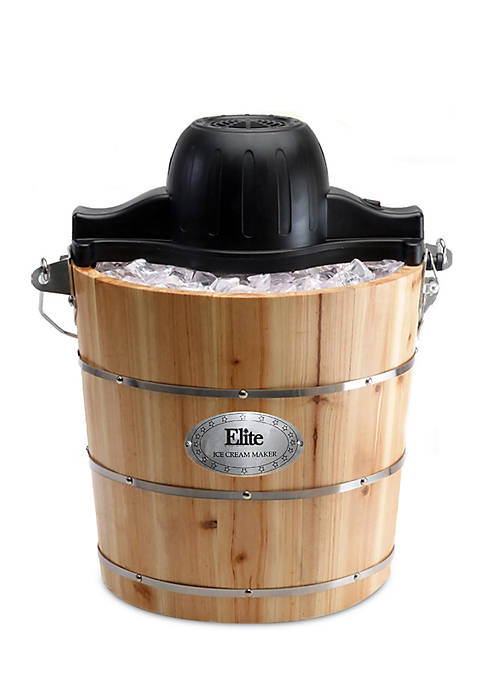 Elite Old Fashioned Ice Cream Maker