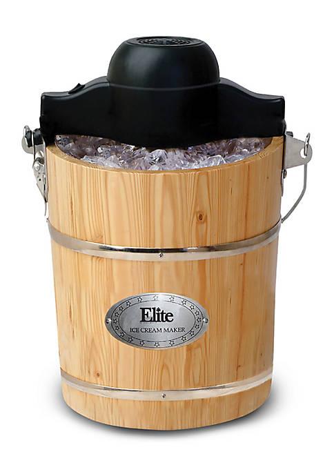 Elite Old Fashioned Ice Cream Maker