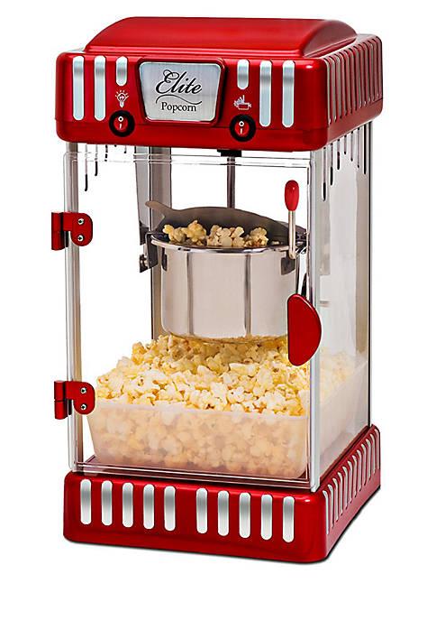 Elite Tabletop Kettle Popcorn Popper Machine