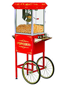 Elite Popcorn Machine With Trolley