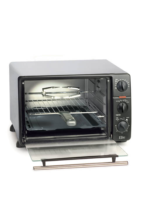 Toaster Oven Broiler with Rotisserie