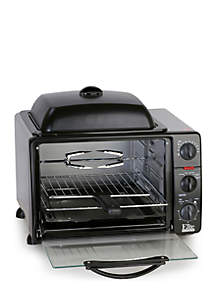 Toaster Oven Rotisserie Grill Griddle Top