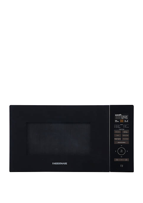 Gourmet FMO11AESBKA 1.1 Cu Ft 1100 Watt Microwave Oven with Smart Sensor, Inverter Technology, and Sensor Touch Control Panel, Black