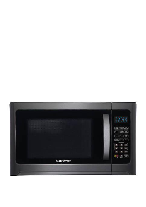 Farberware Black FMO12AHTBSG 1.2 Cu Ft 1100 Watt