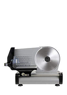 8.6-in. Stainless Steel Electric Slicer