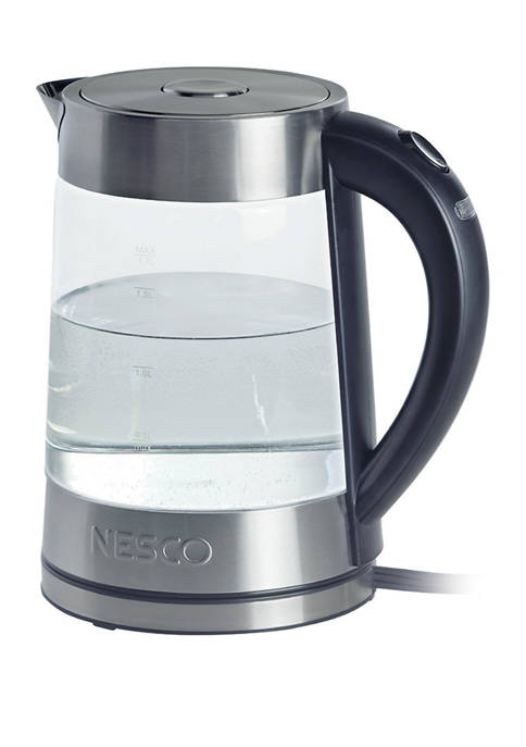 Nesco 1.8 Quart Electric Glass Water Kettle