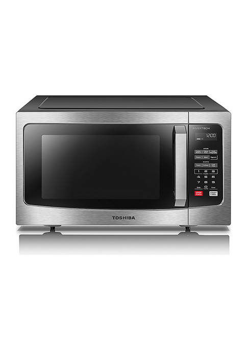 1.6 Cubic Feet Stainless Steel Microwave