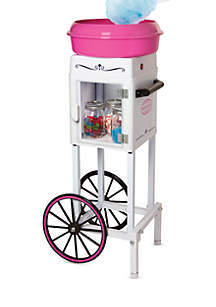 Nostalgia 3-Foot Tall Hard & Sugar-Free Candy Cotton Candy Cart