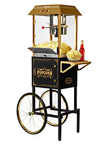 59-In. Tall Commercial 10-Ounce Kettle Popcorn Cart