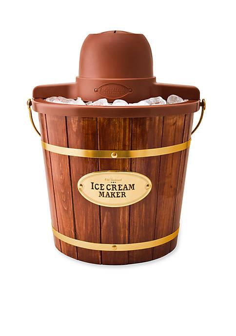 Nostalgia 4-qt. Wooden Bucket Electric Ice Cream Maker