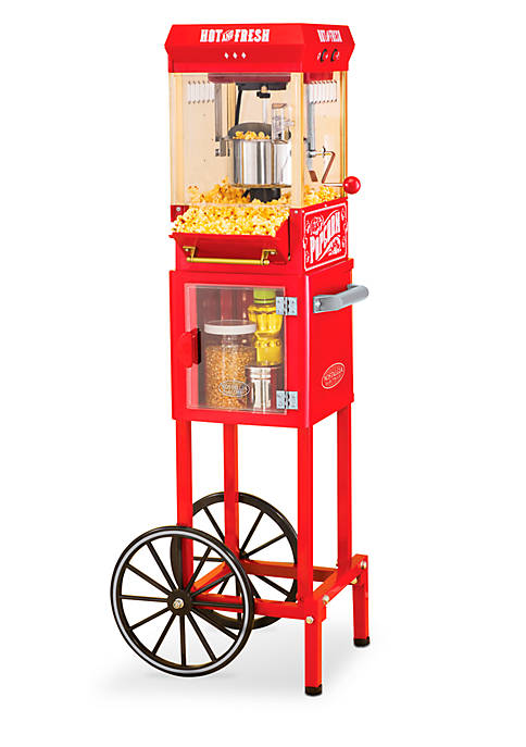 Nostalgia 2.5 Ounce Popcorn Cart
