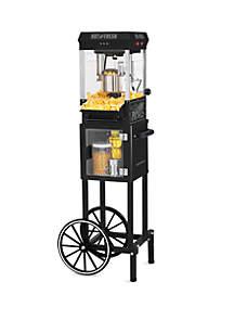 2.5 oz Popcorn Cart with 5 qt Popcorn Bowl