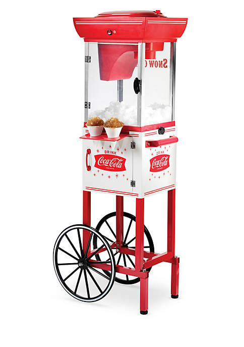 Nostalgia 4-ft. Tall Coca-Cola Snow Cone Cart