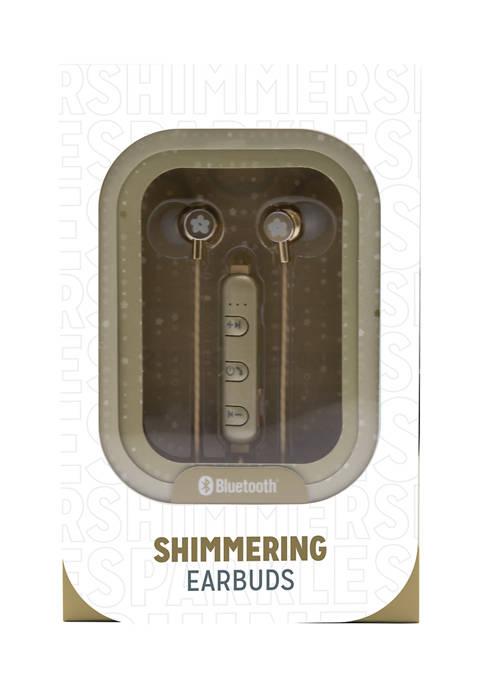 LIMITED TOO Kids Bluetooth Metallic Earbuds