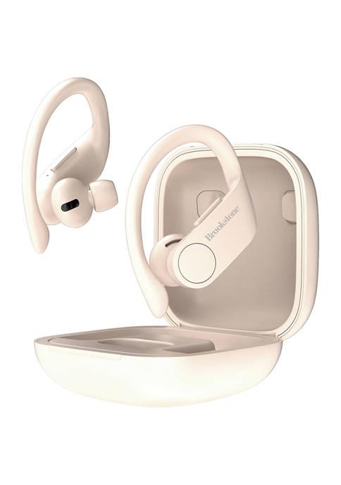 Brookstone Pro Active True Wireless Earbuds