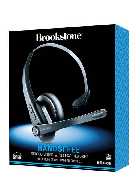 Brookstone Single Sided Wireless Headset
