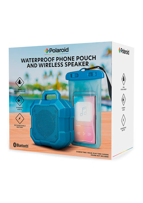Waterproof Phone Pouch and Wireless Speaker