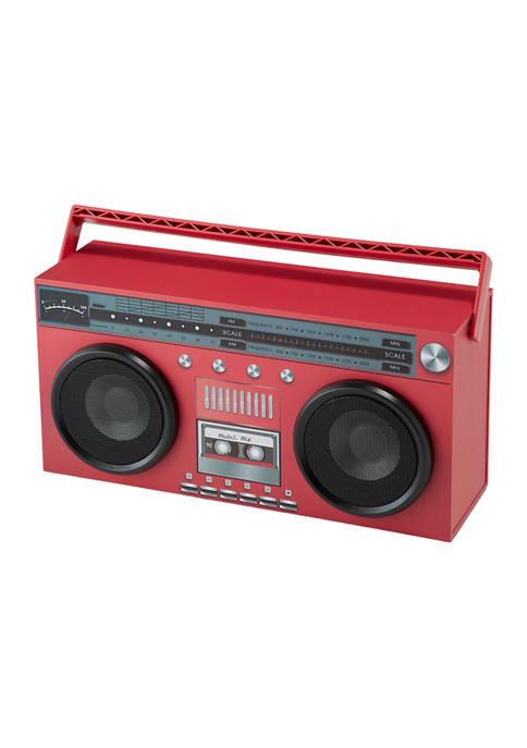 Art + Sound Wireless Vintage Boombox